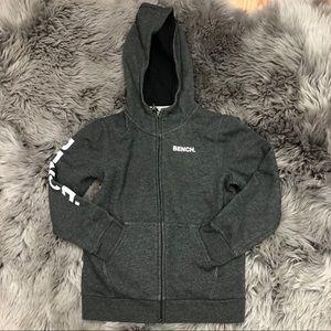 Bench Zip Up Sweater: Grey (PM970)